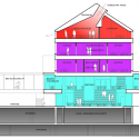 Building S Aarhus University / Cubo Arkitekter Section