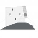 New Mountain Hut At Tracuit / Savioz Fabrizzi Architectes East Elevation