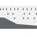 New Mountain Hut At Tracuit / Savioz Fabrizzi Architectes North Elevation