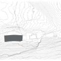 New Mountain Hut At Tracuit / Savioz Fabrizzi Architectes Site Plan