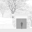 Little House on the House  / Studio x Architettura South Elevation