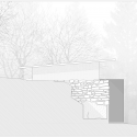 Little House on the House  / Studio x Architettura West Elevation