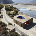 Niyang River Visitor Center  / Standardarchitecture + Zhaoyang Architects © Chen Su