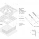 House in Kawanishi / Tato Architects Exploded Axonometric