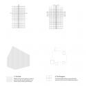 100 Walls Church / CAZA Concept Diagram