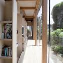 Double circular rings in Todoroki / Teppei Fujiwara Architects Labo © Muraguchi
