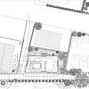 Double circular rings in Todoroki / Teppei Fujiwara Architects Labo Site Plan
