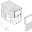 Bamboo Micro Housing Proposal / AFFECT-T Isometric 2