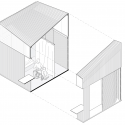 Bamboo Micro Housing Proposal / AFFECT-T Isometric 3