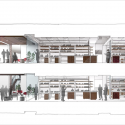 Weill Cornell Medical College / Todd Schliemann | Ennead Architects Cross Section