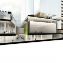 Woods Bagot Reveals Design for Wenling Sheraton Section - Podium. Image Courtesy of Woods Bagot