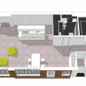 Bermondsey Warehouse Loft Apartment  / FORM Design Architecture Diagram