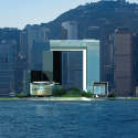 HKSAR Government Headquarters / Rocco Design Architects Seafront Elevation