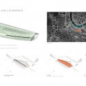In Progress: Tianjin Riverside 66 / KPF Shell Geometry