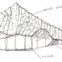 Supermarket in Athens  / KLab architecture Sketch