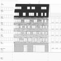 Villa des Sciences  / LOG Architectes North Elevation