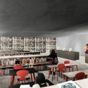 Competition Entry: Moscow's National Centre for Contemporary Arts / WAI Think Tank Library. Image Courtesy of WAI Think Tank
