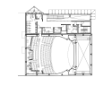 Rebirth of The York Theatre / Henriquez Partners Architects Second Floor Plan