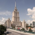 Three Finalists Announced for Moscow's Ukraina Hotel Entryway Competition ABD Architects. Image Courtesy of Entryway  Hotel Competition