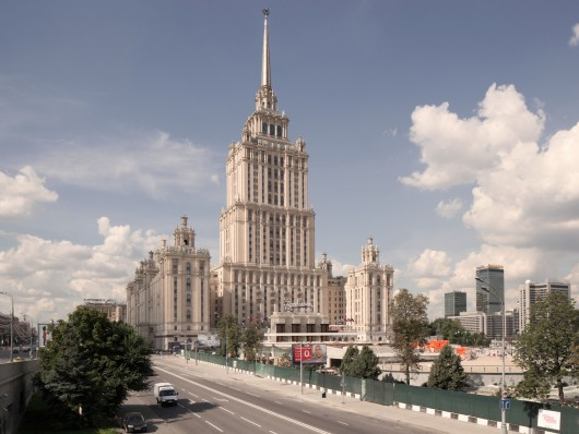 Three Finalists Announced for Moscow's Ukraina Hotel Entryway
