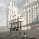 Three Finalists Announced for Moscow's Ukraina Hotel Entryway Competition Studio 44. Image Courtesy of Entryway  Hotel Competition