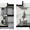 7x18 House / AHL architects associates Shadow comparison between June and December at 2.00 pm