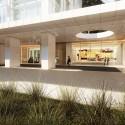 Richard Meier Designs Two-Tower Residential Development for Bogota Entry Plaza. Image © Richard Meier & Partners