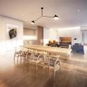 Richard Meier Designs Two-Tower Residential Development for Bogota Unit 2: Living Room. Image © Richard Meier & Partners