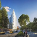 Richard Meier Designs Two-Tower Residential Development for Bogota North View. Image © Richard Meier & Partners