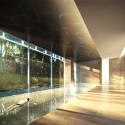Richard Meier Designs Two-Tower Residential Development for Bogota Swimming Pool. Image © Richard Meier & Partners