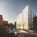 Richard Meier Designs Two-Tower Residential Development for Bogota East View. Image © Richard Meier & Partners