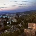 Richard Meier Designs Two-Tower Residential Development for Bogota View from East. Image © Richard Meier & Partners