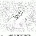 A House In The Woods / William Reue Architecture Site Plan