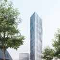 Barkow Leibinger Win Competition For Berlin's Tallest High-Rise Visualization. Image © Barkow Leibinger / bloomimages