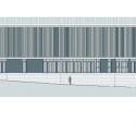 School Isabel Besora / NAM Arquitectura Elevation