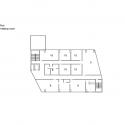 RW Concrete Church / NAMELESS Architecture Fourth Floor Plan