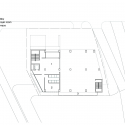 RW Concrete Church / NAMELESS Architecture First Floor Plan