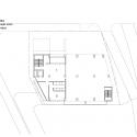RW Concrete Church / NAMELESS Architecture First Floor Plan