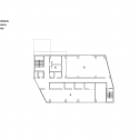 RW Concrete Church / NAMELESS Architecture Second Floor Plan