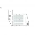 RW Concrete Church / NAMELESS Architecture Third Floor Plan