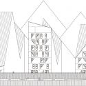 The Iceberg / CEBRA + JDS + SeARCH + Louis Paillard Architects Elevation
