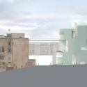 Seona Reid Building / Steven Holl Architects East Elevation