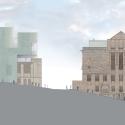 Seona Reid Building / Steven Holl Architects West Elevation