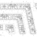 The Iceberg / CEBRA + JDS + SeARCH + Louis Paillard Architects Second Floor Plan