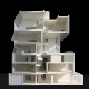 Seona Reid Building / Steven Holl Architects Model 3