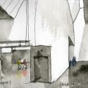 Seona Reid Building / Steven Holl Architects Drawing 2