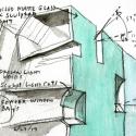 Seona Reid Building / Steven Holl Architects Drawing 3