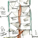 Seona Reid Building / Steven Holl Architects Drawing 8