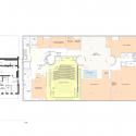 Seona Reid Building / Steven Holl Architects Basement Floor Plan