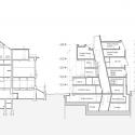 Seona Reid Building / Steven Holl Architects Section AA
